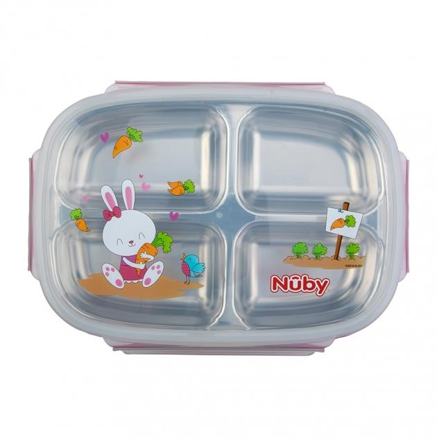 不銹鋼分格餐盒 2