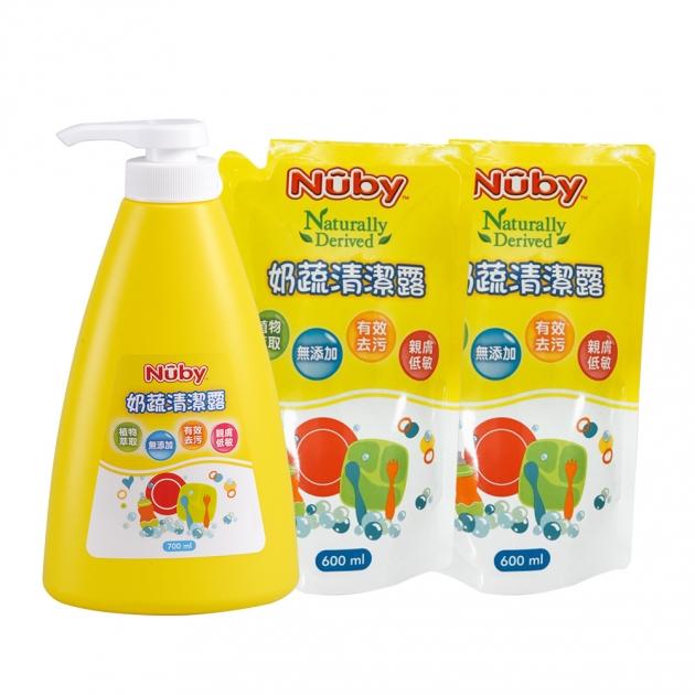 奶蔬清潔露組合包 2