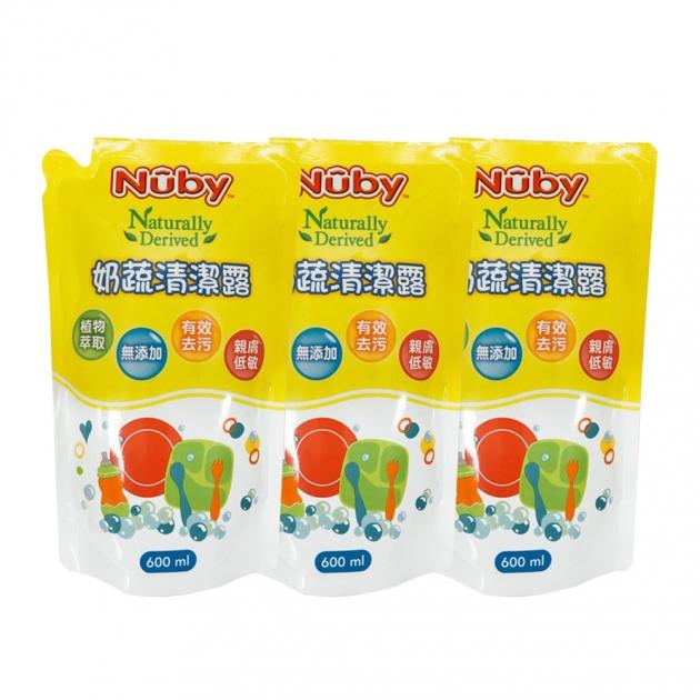 奶蔬清潔露補充包 3