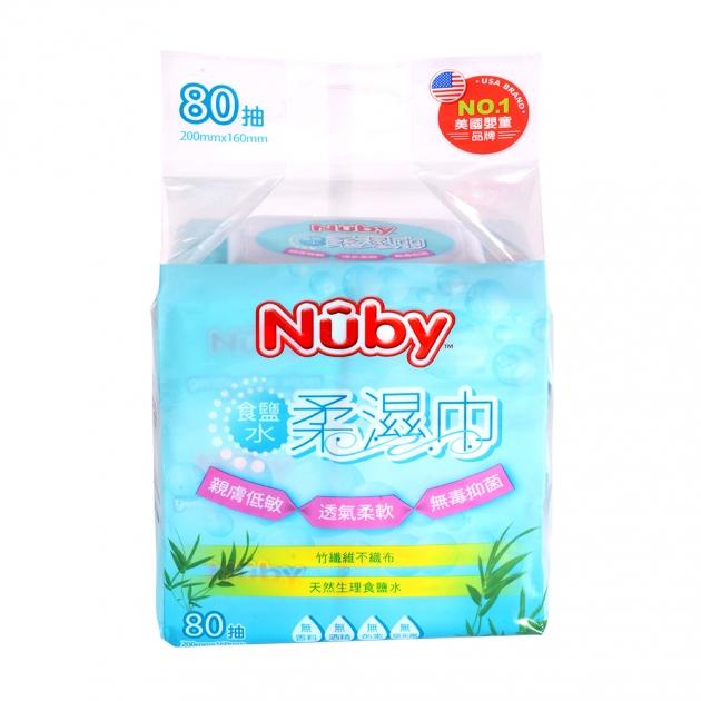 Nuby食鹽水柔濕巾(80抽/3包) 3