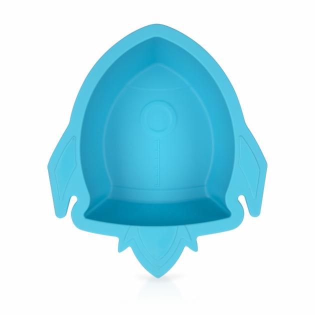 矽膠餐碗/火箭(粉/藍) 4